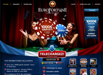 Miniature d'EuroFortune Casino